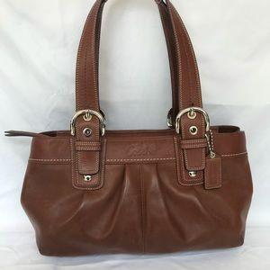 Coach large Soho brown bag 13732